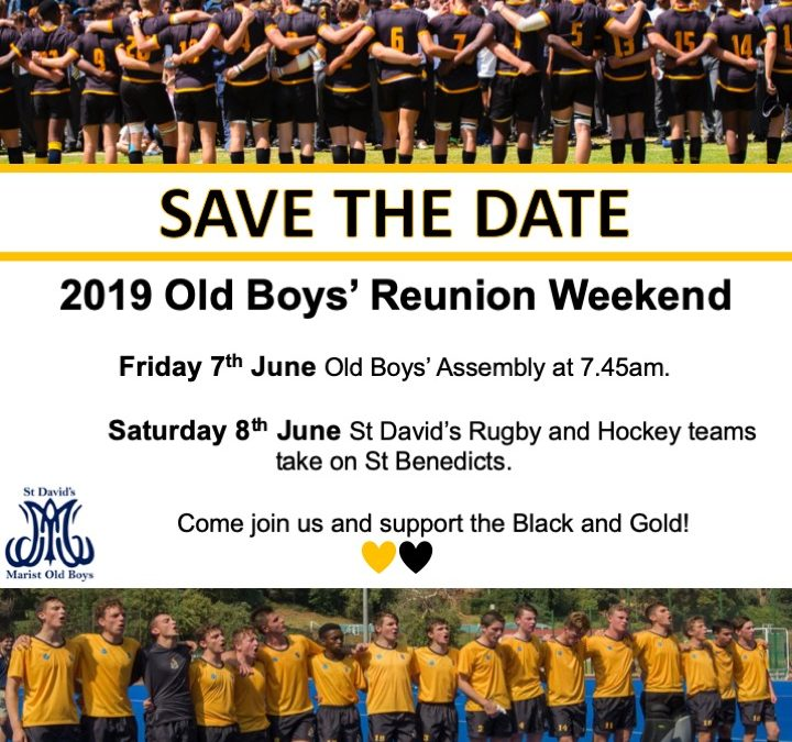2019 Old Boys' Reunion Weekend