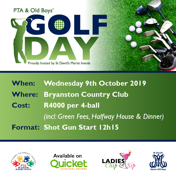 Golf Day 9th October